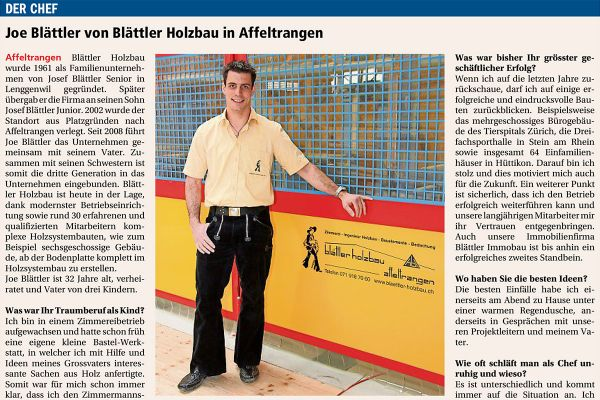 2016 – Interview mit Joe Blättler